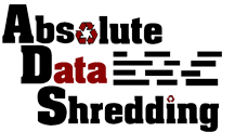 Oklahoma's Lead Shredders's Absolute Data Shredding Logo